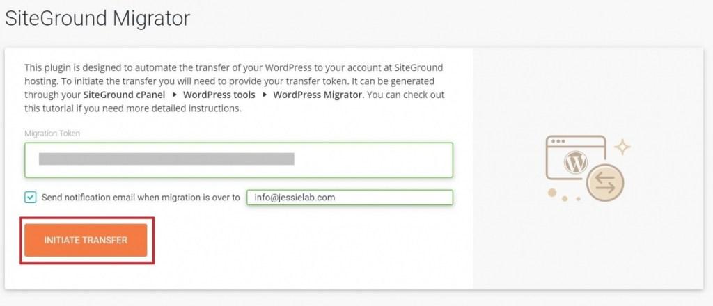 Siteground Migrator