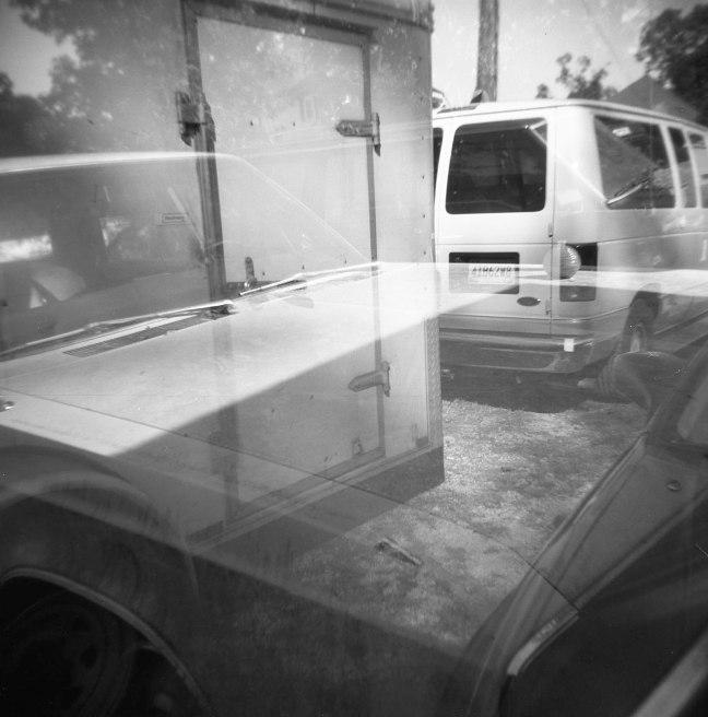 van & trailer & chrysler :: sheffield, alabama :: ilford delta :: 2010