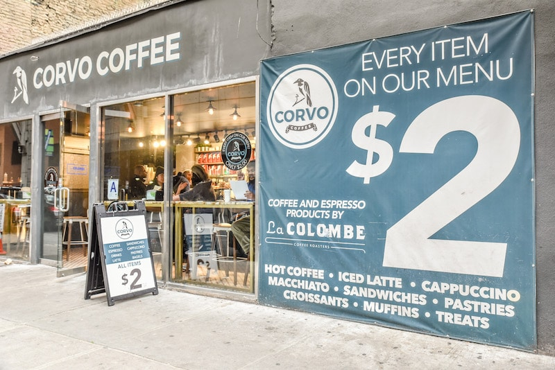 things to do in times square corvo coffee