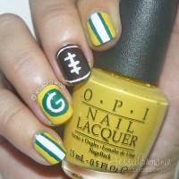 Go Team! Packers Nail Art  JessiiBrownie