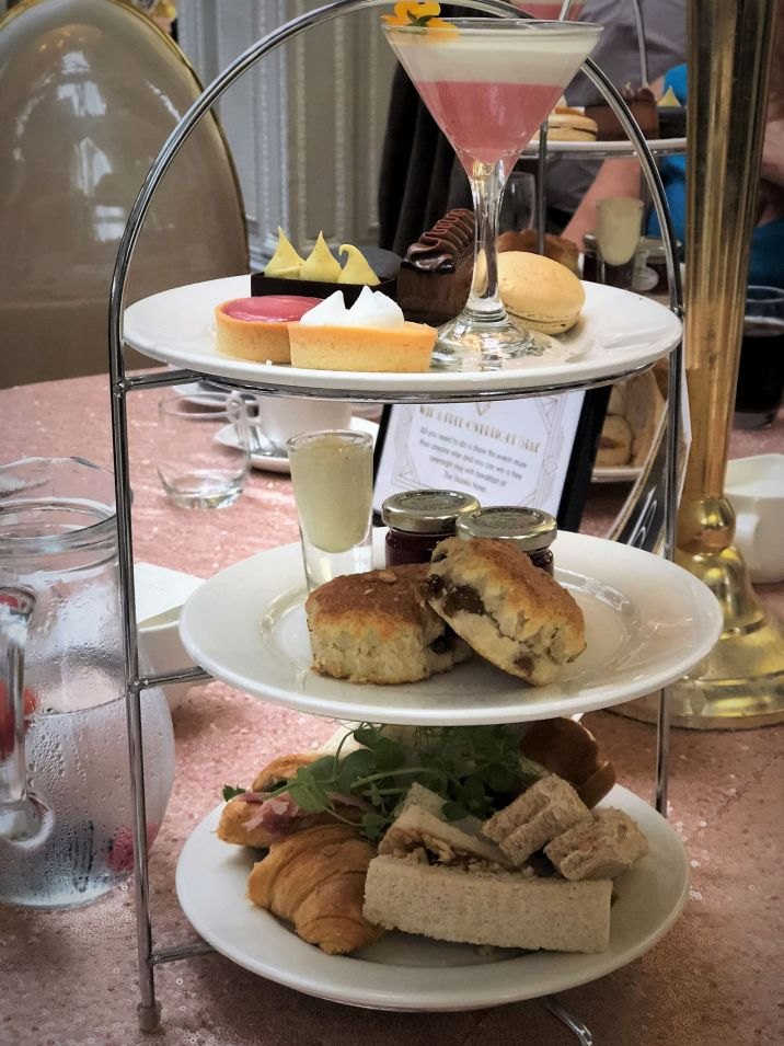 Gatsby Afternoon Tea. Afternoon Tea. Liverpool Blogger. Signature Living.