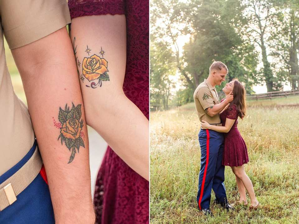 winston salem matching tattoos photographer