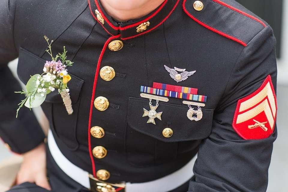 kernersville marines wedding photographer
