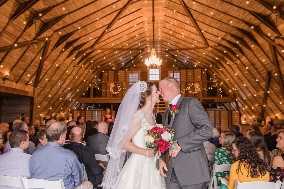 barn at blueberry hill wedding