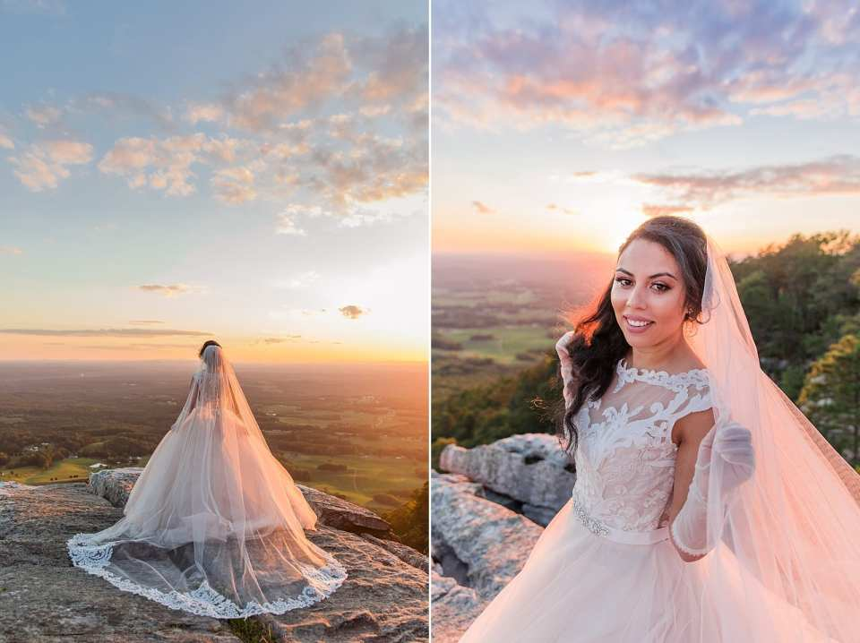pilot mountain bride