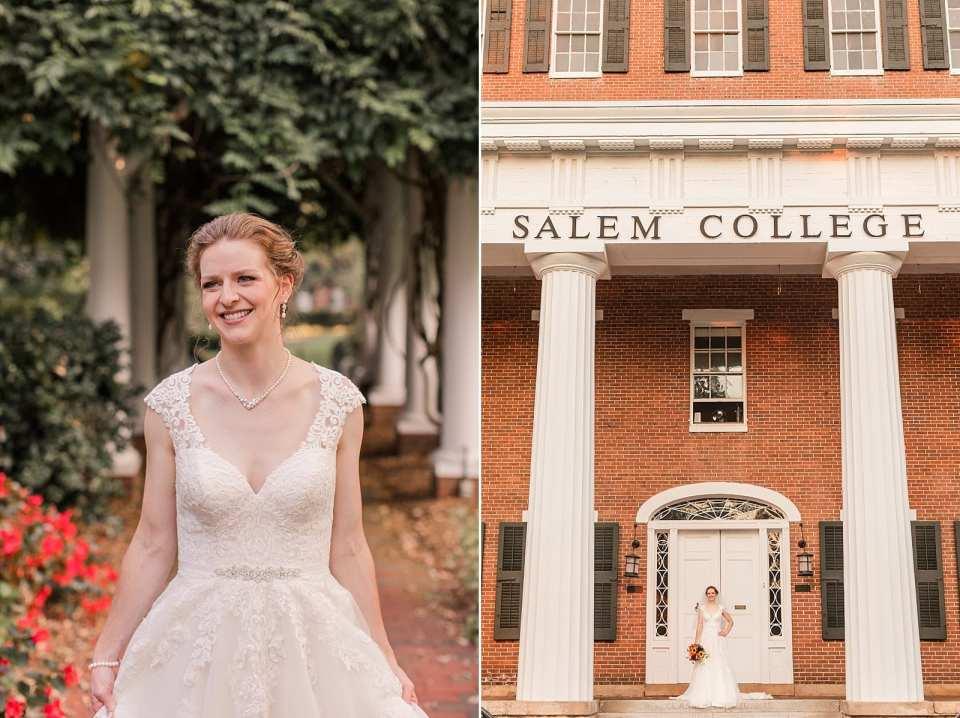 salem college bride
