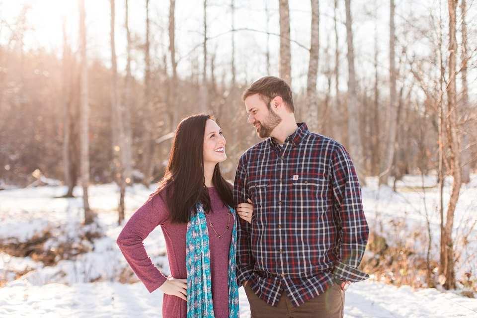 lunas trail engagement wedding