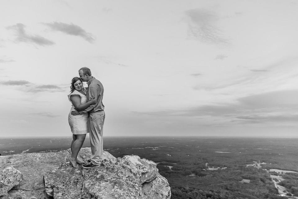 Pilot Mountain North Carolina Engagement
