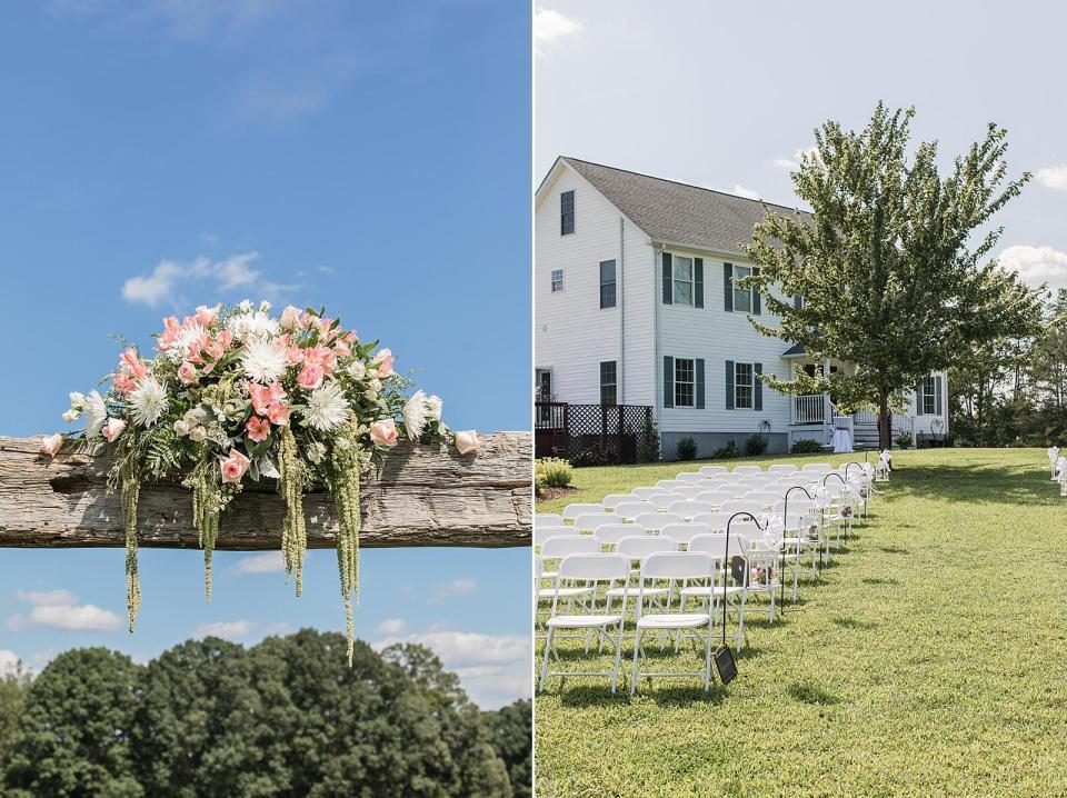 Carriage Trail Farms Wedding Lexington, North Carolina