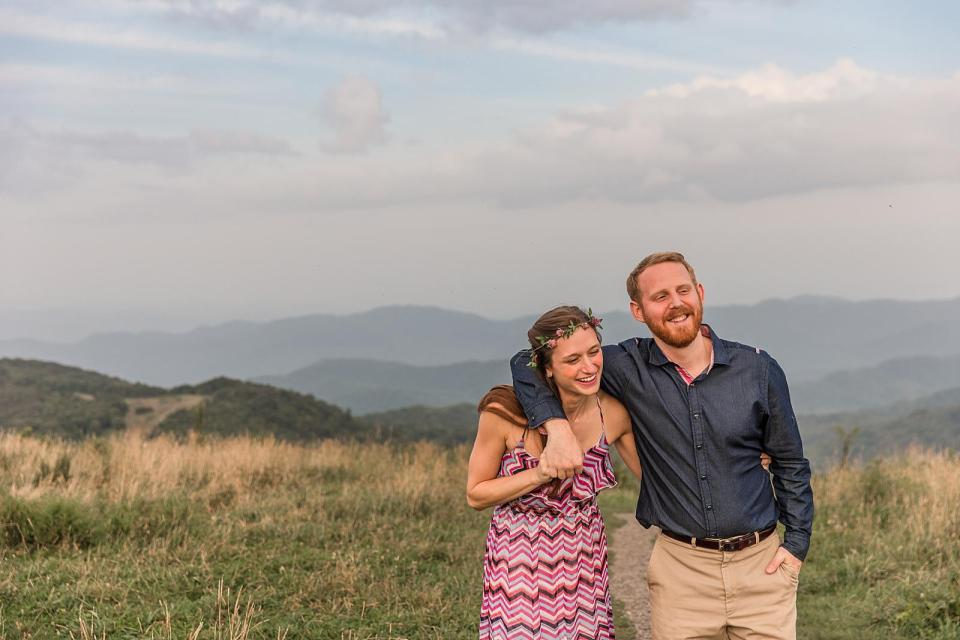 Max Patch Engagement Asheville