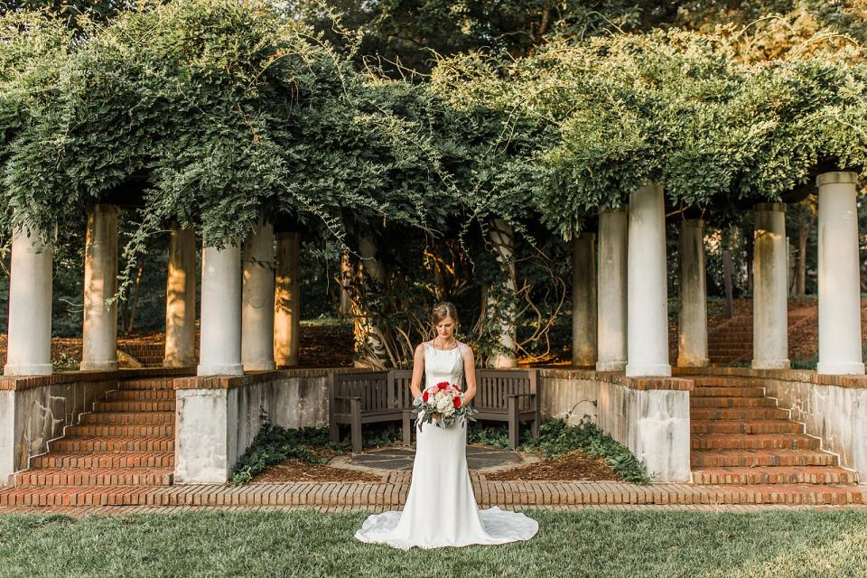 The Barn at Reynolda Village Wedding Reynolda Gardens Wedding