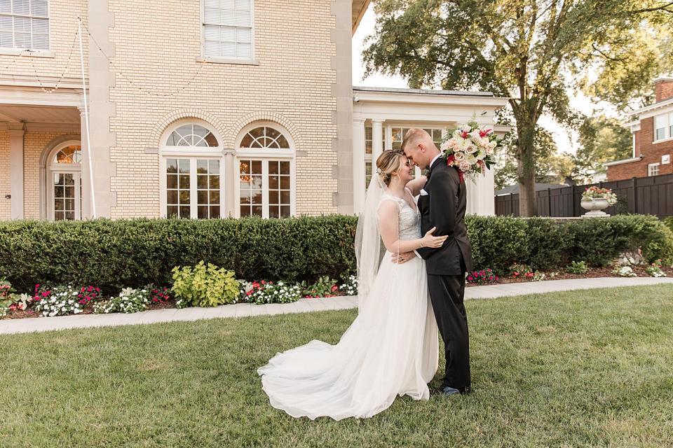 Separk Mansion Wedding Gastonia North Carolina
