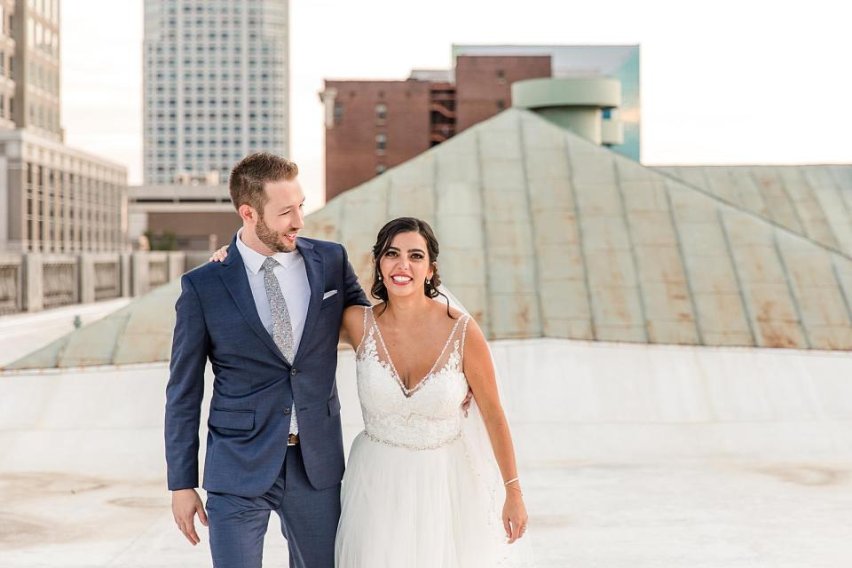 The Millennium Center Wedding Winston-Salem, NC