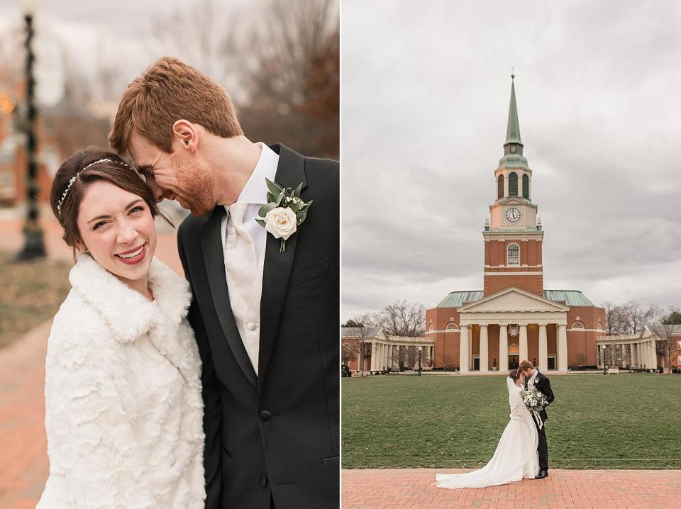 Wait Chapel Wedding Wake Forest University