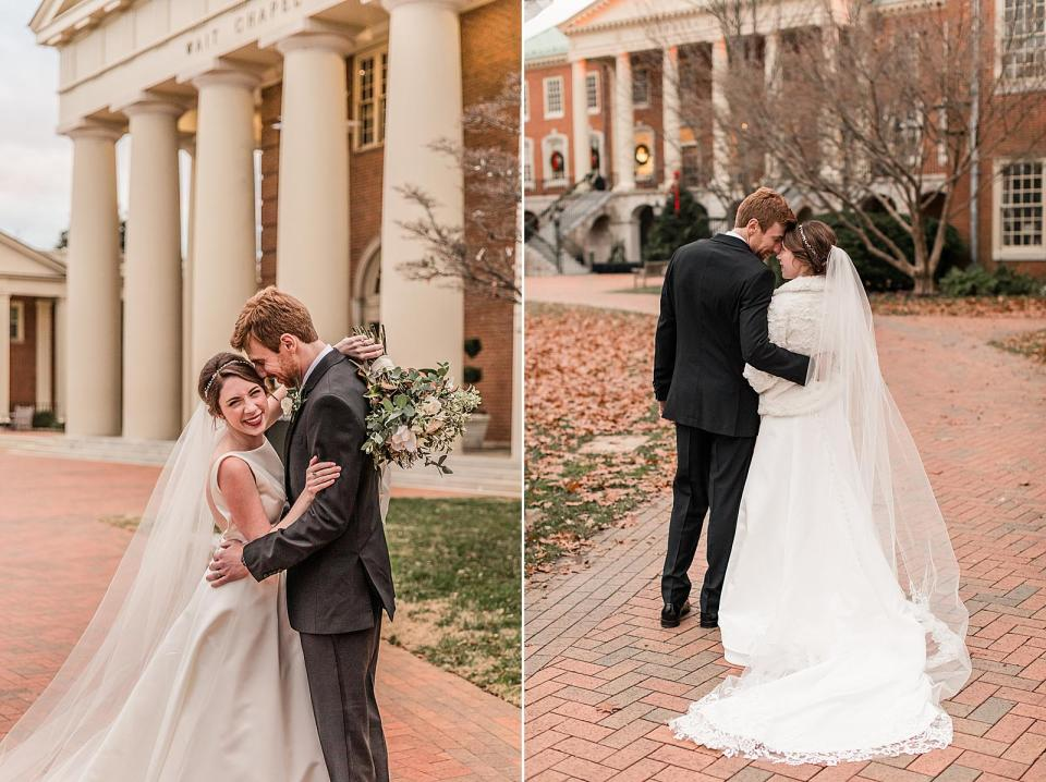Wait Chapel Wedding Wake Forest University