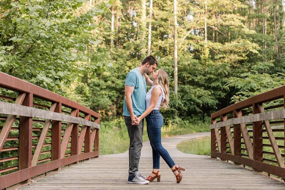 Quarry Park Engagement Winston Salem Photographer