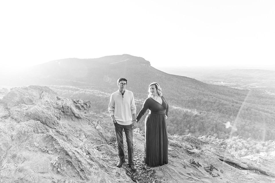 North Carolina Mountain Engagement Photographer