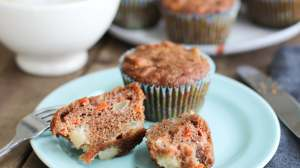 Apple Spice and Carrot Muffins [Grain Free]