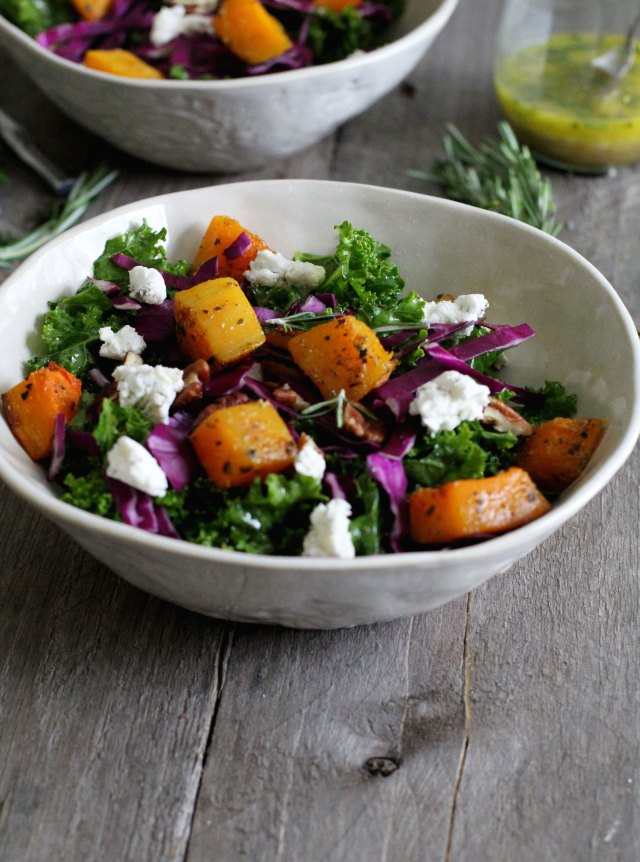 Butternut and Kale Salad