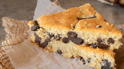 Guest Post: Chocolate Chip Snack Bars