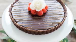 Chocolate Coconut Creme Tart