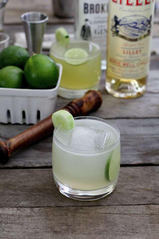 Cucumber Gin Summer Cocktail: Jessi's Kitchen