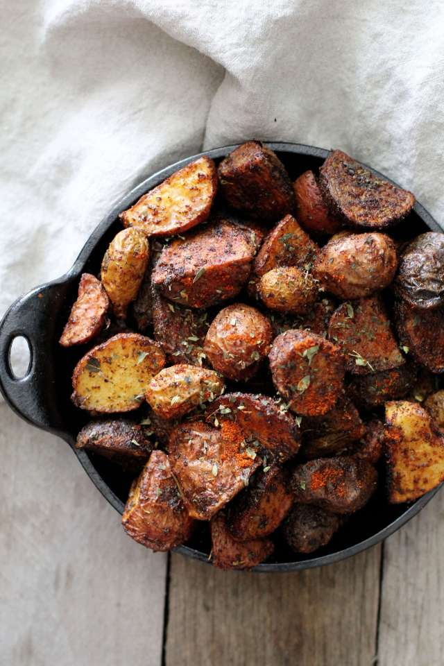 Chili Roasted Potatoes: Jessi's Kitchen