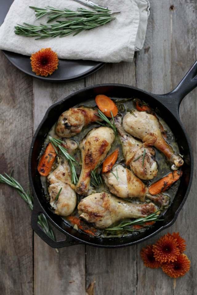 Cider Braised Chicken: Jessi's Kitchen