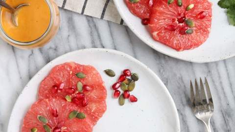 Winter Grapefruit Salad