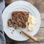 Gluten free Banana Bread French Toast
