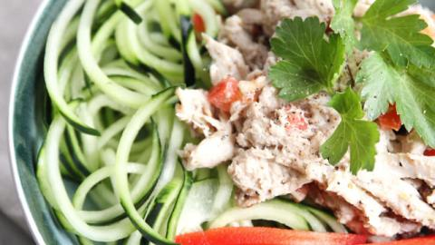 Greek Vinaigrette Chicken Salad