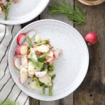 Lemon, Dill and Asparagus Potato Salad