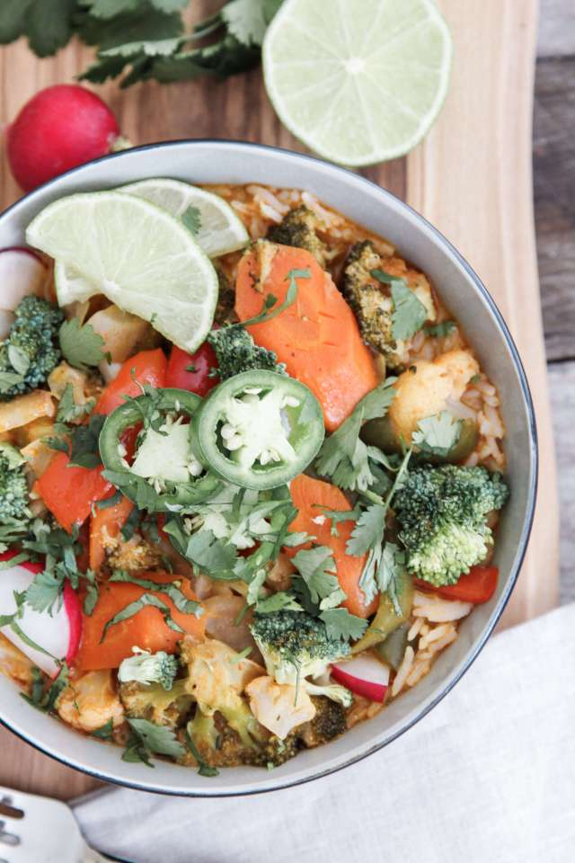 egetable Red Thai Curry Bowls: Jessi's Kitchen