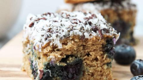 Blueberry Banana Breakfast Bars