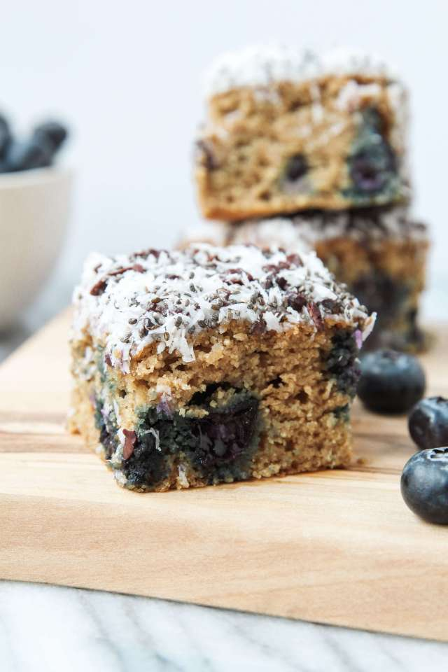 Blueberry Banana Breakfast Bars: Jessi's Kitchen