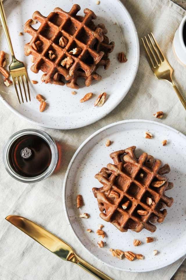 Gluten-free Zucchini Bread Waffles: Jessi's Kitchen