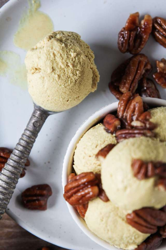 Vegan Turmeric Ginger Ice Cream: Jessi's Kitchen