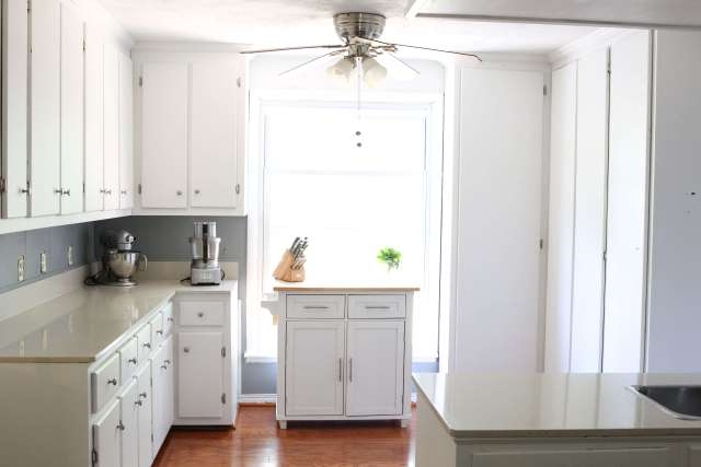 Before and After Kitchen Makeover (Phase One): Jessi's Kitchen