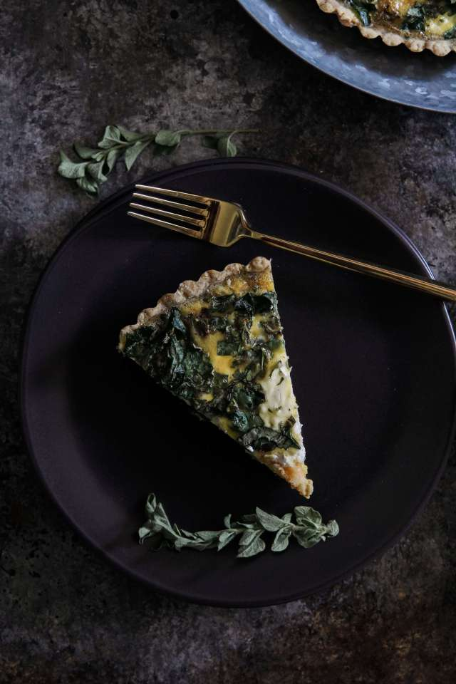 Butternut Squash and Kale Quiche: Jessi's Kitchen