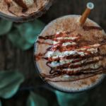 Vegan Caramel Apple Milkshakes