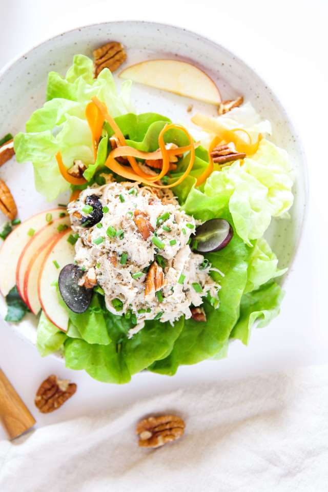 Chicken Salad with Grapes and Pecans: Jessi's Kitchen