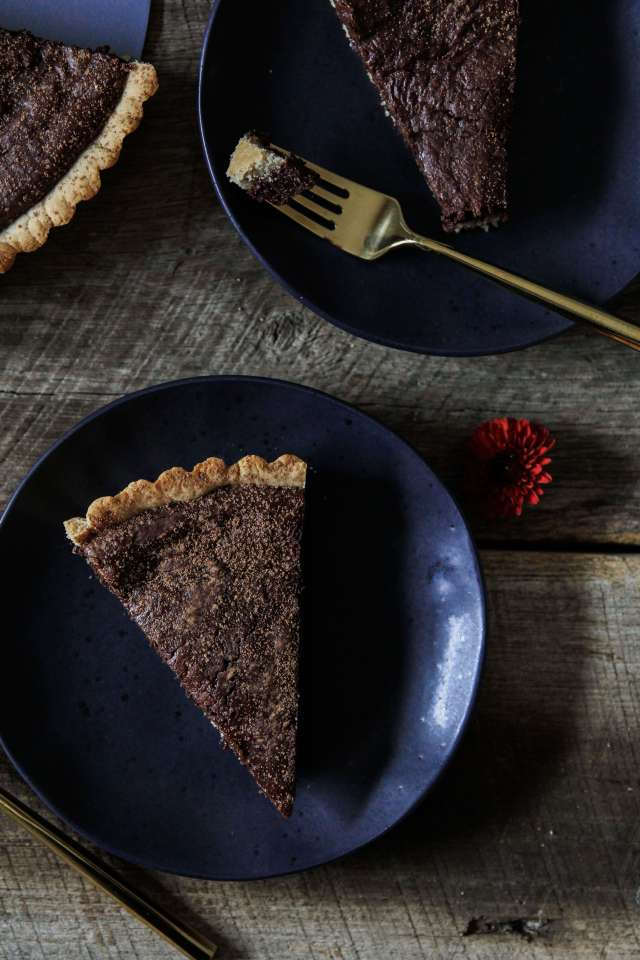 Gluten-free Chocolate Fudge Tart