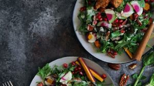 Grain-free Fried Chicken Salad