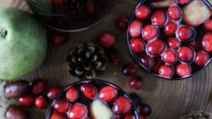 Spiced Cranberry Sangria