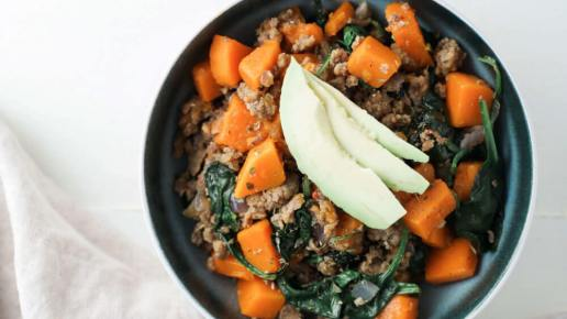 Sausage and Butternut Hash