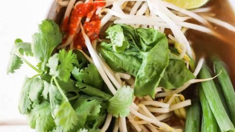 Zucchini Noodle Pho