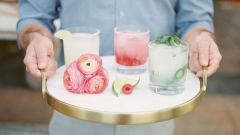 Build Your Own Margarita Bar