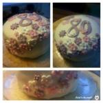 Meine erste zweistckige Torte  Jessis Schlemmerkitchen