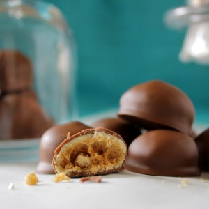 Homemade Chuckles (Maltesers/Whoppers)