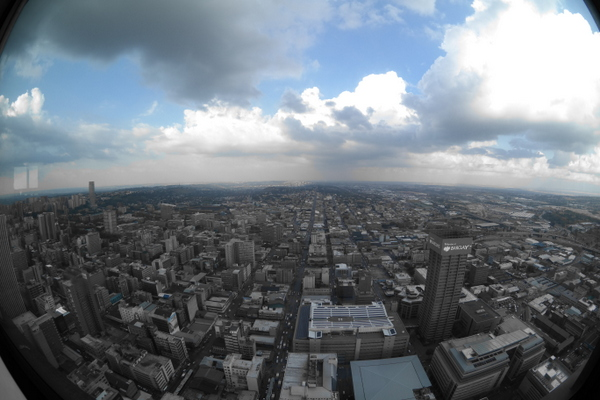 Top of Johannesburg